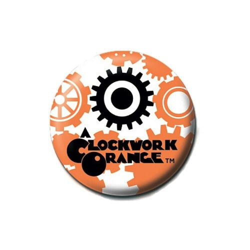 A Clockwork Orange Gears and Cogs Button Badge